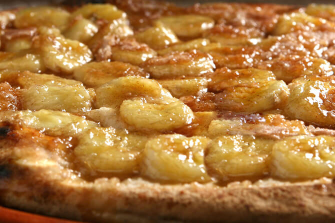 banana pizza