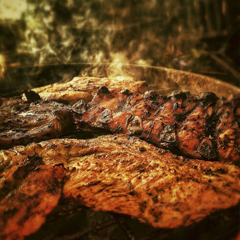 Churrasco am Spiess